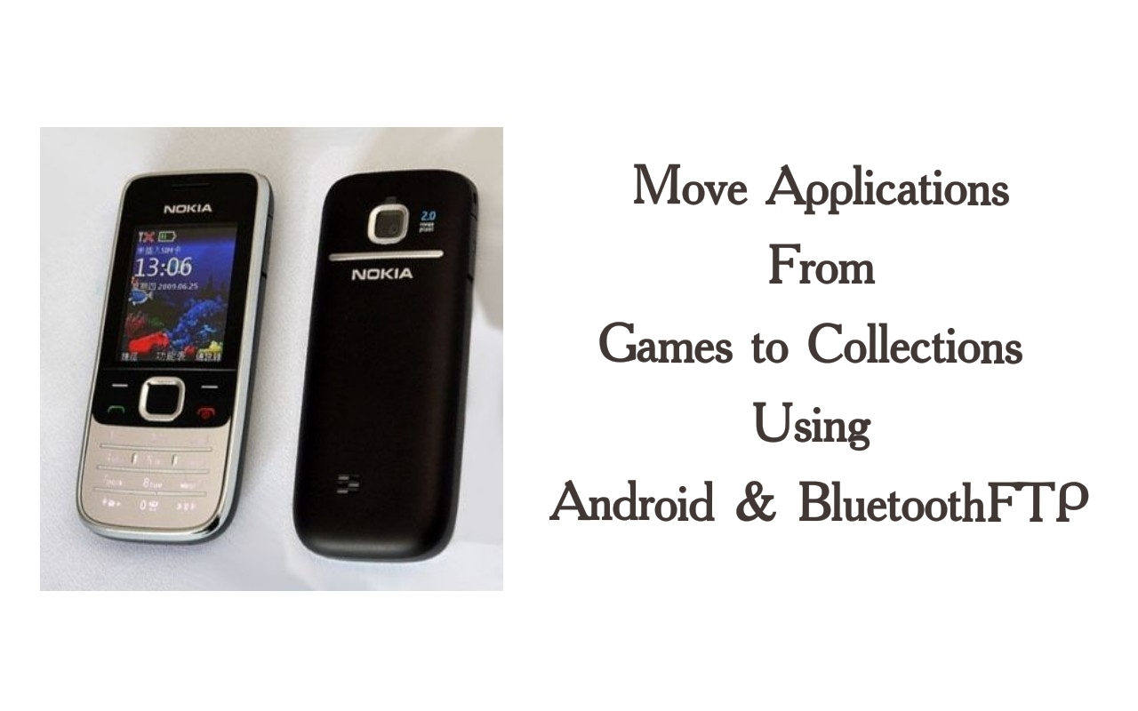move application nokia 2730 classic
